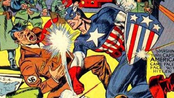 Captain America, disegno di Jack Kirby