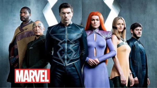 I protagonisti di Inhumans