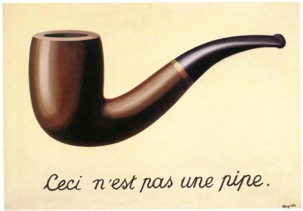 René Magritte, La Trahison des images (Il tradimento delle immagini), 1928-1929, olio su tela, 63,5×93,98 cm, Los Angeles County Museum of Art, Los Angeles