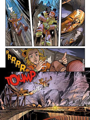 Un'anteprima del primo volume di Dragonero Adventures [Fonte: Sergiobonelli.it]