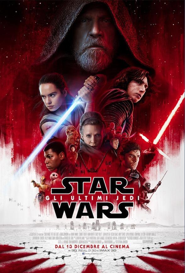 Star Wars: Gli ultimi Jedi, il nuovo poster italiano
