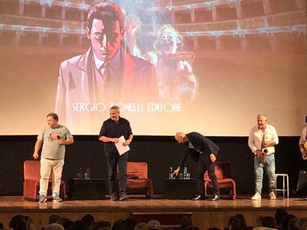 La presentazione del fumetto del Commisario Ricciardi  - Foto di Claudia Graziani