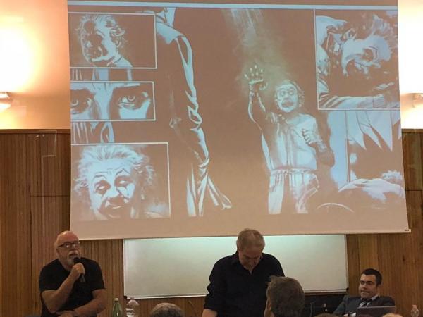 La presentazione del fumetto del Commissario Ricciardi  - Foto di Claudia Graziani