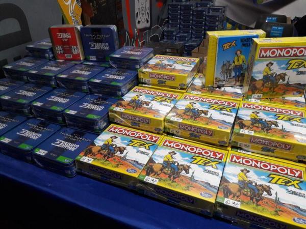 Il Trivial Pursuit sui fumetti e il Monopoly di Tex a Lucca Games