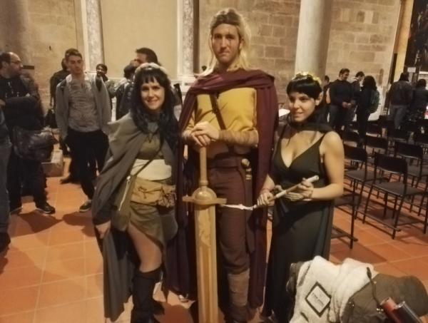 Alcuni fan hanno realizzato i costumi dei protagonisti di Dragonero: Ian Aranill e Sera di Frondascura, apprezzati dagli autori per la cura con cui hanno realizzato abiti e armi.