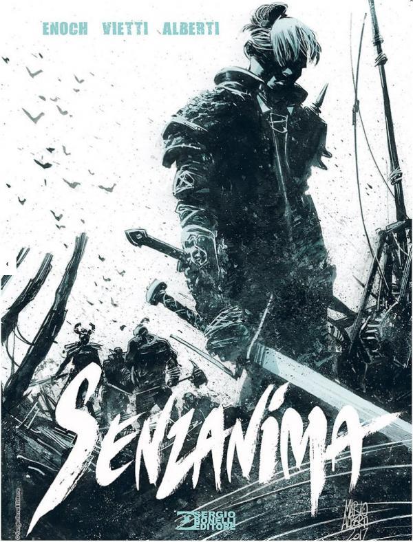 La copertina di Senzanima, in edizione speciale cartonata