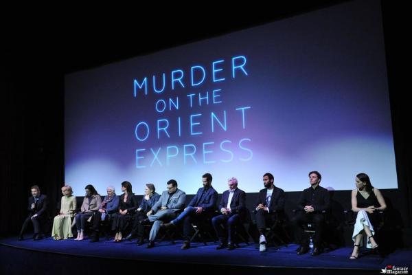 Il cast di Assassinio sull'Orient Express