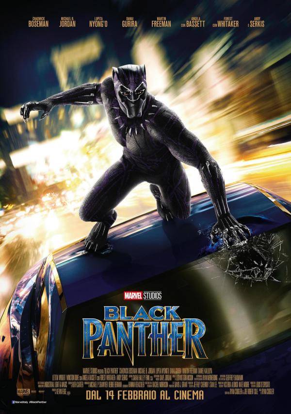 Black Panther - Poster italiano