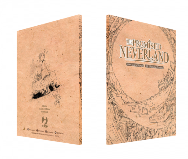 Il notebook di The Promised Neverland