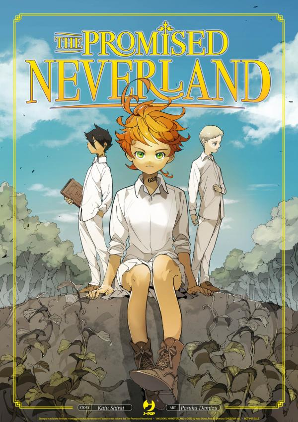 Il poster di The Promised Neverland