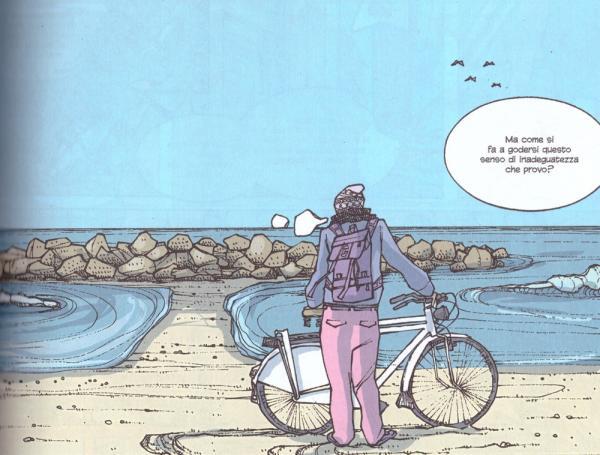 Fin qui tutto bene, disegno di Mabel Morri