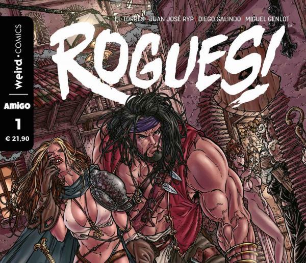 In libreria e fumetteria arriva Rogues!