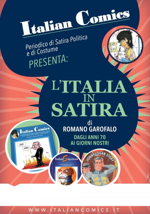 <i>L'Italia in Satira Dagli anni 70 ai giorni nostri</i>: