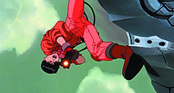 Kaneda in una scena di Akira