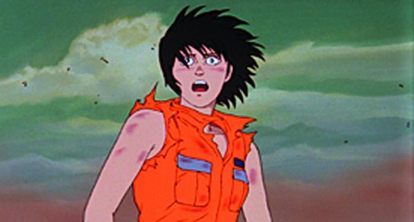 Kei in una scena di Akira