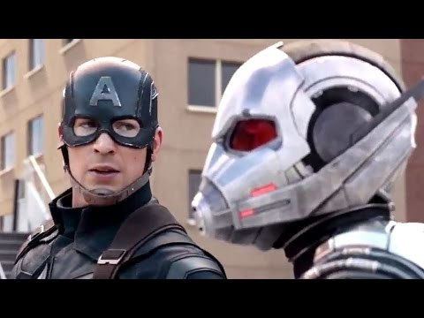 Ant-Man al fianco di Captain America in Civil War