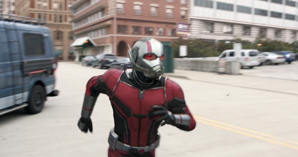 Paul Rudd è Ant-Man in <i>Ant-Man and The Wasp</i>