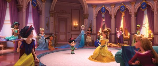 Vanellope incontra le Principesse Disney