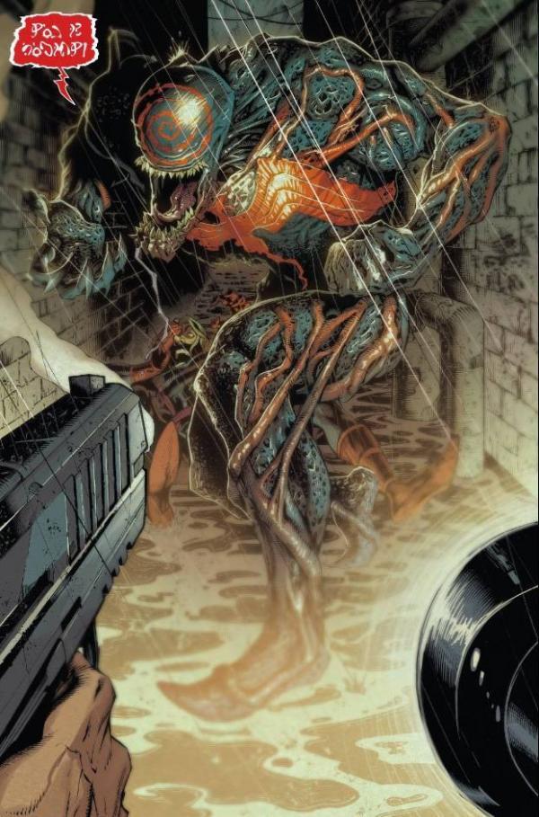 Una nuova forma per il simbionte, in Venom n.1.