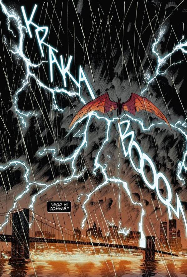 Sembra che esista un dio anche per i simbionti, in Venom n.1.