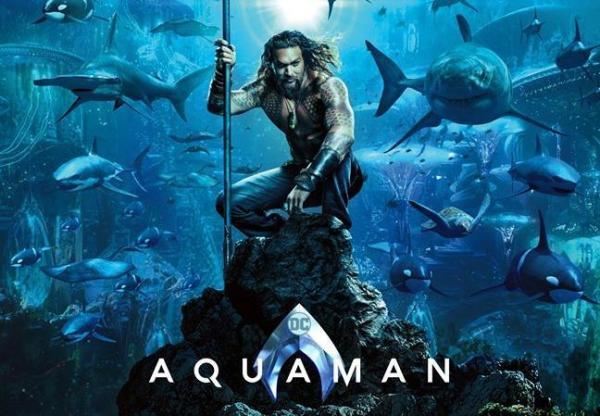 Nuovo poster per Aquaman e un assaggio del trailer
