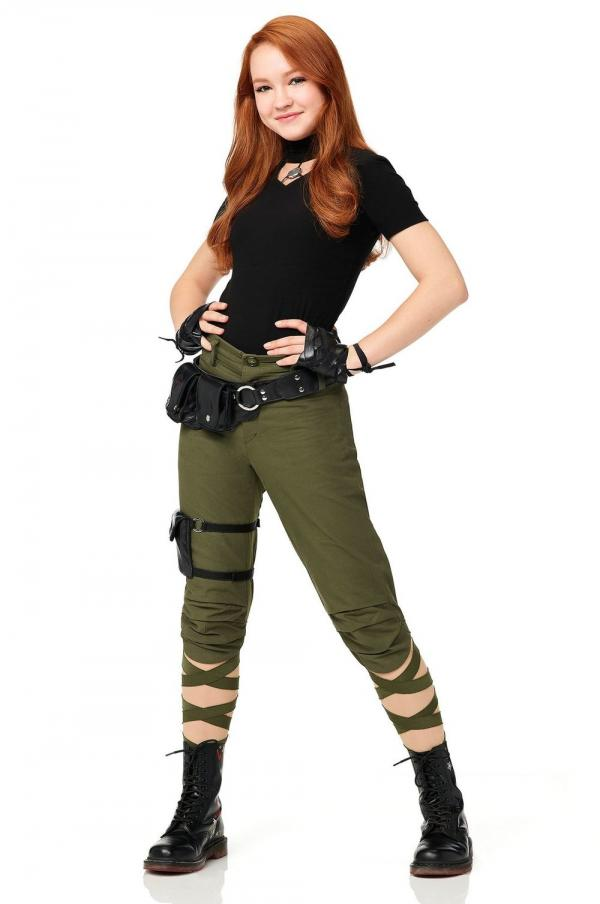 Sadie Stanley è Kim Possible nel nuovo film Disney. [Fonte: Ew.com]