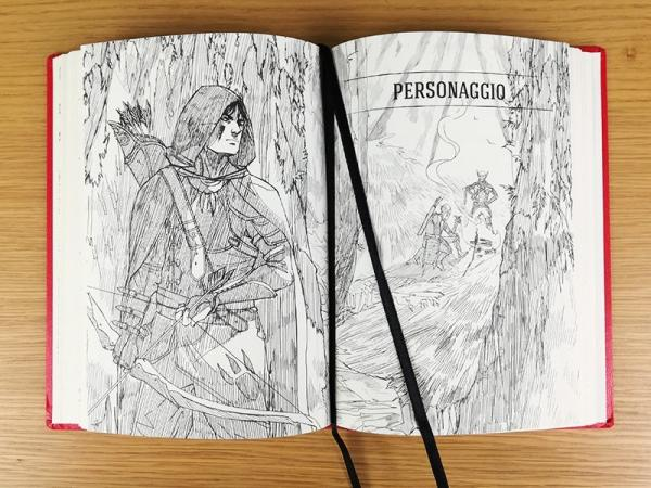 Un'illustrazione di Silvia Pasqualetto per HERO – The Adventurer's Journal