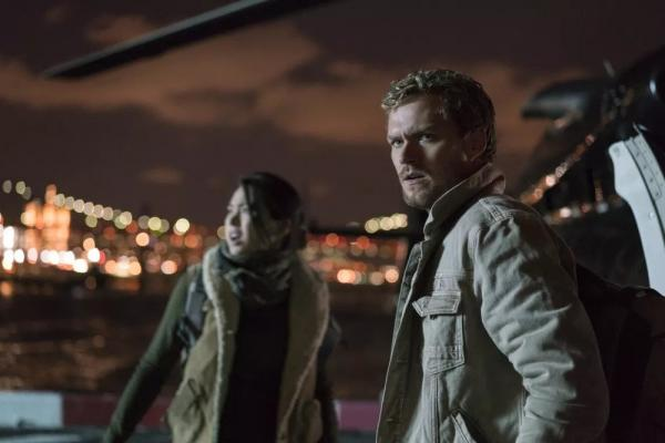Danny e Colleen in Iron Fist 2