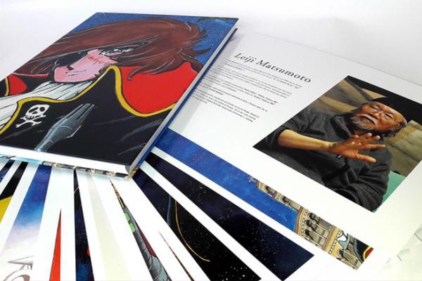 Un'anteprima dell'artbookLeiji Matsumoto Artworks, realizzato per Lucca Comics & Games 2018. (Fonte: luccacomicsandgames.com)