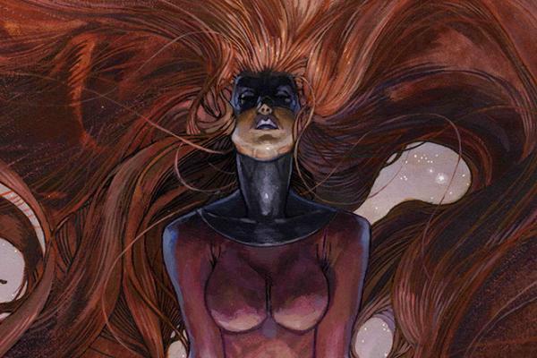 Un'illustrazione di Simone Bianchi esposta alla mostraMarvel Masterpieces di Lucca Comics & Games 2018.(Fonte: luccacomicsandgames.com)