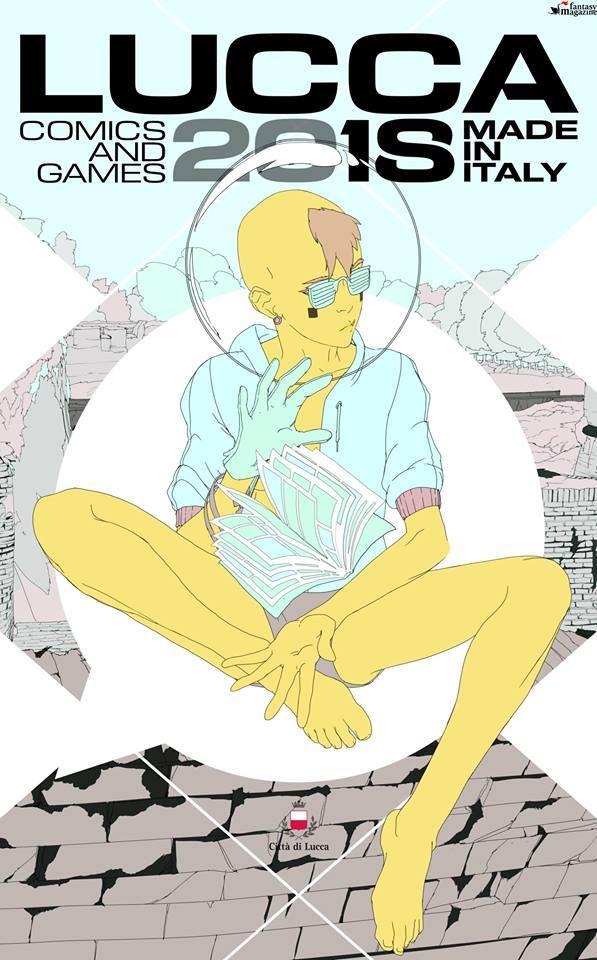 Il nostro poster personalizzato di Lucca Comics & Games! by LRNZ