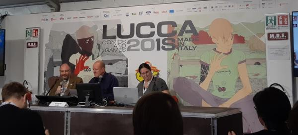 Ian Livingstone, padre del libro-game, a Lucca Comics & Games