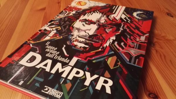 L'albo speciale di Dampyr, presentato a Lucca Comics & Games.