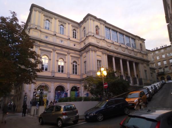Il Teatro Rossetti, sede dello Science + Fiction Festival di Trieste