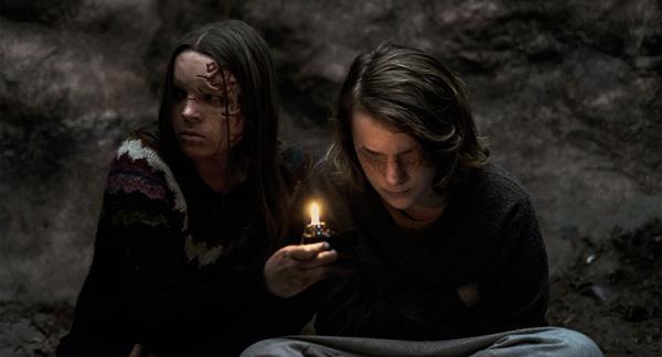 Scena del film The Dark