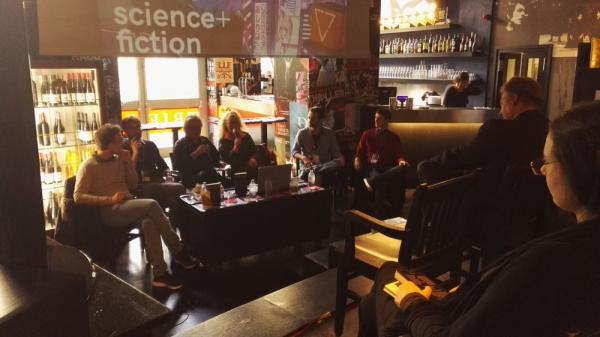 Un momento della presentazione di Nuove Eterotopie (foto cortesia di Sonia Chelli)