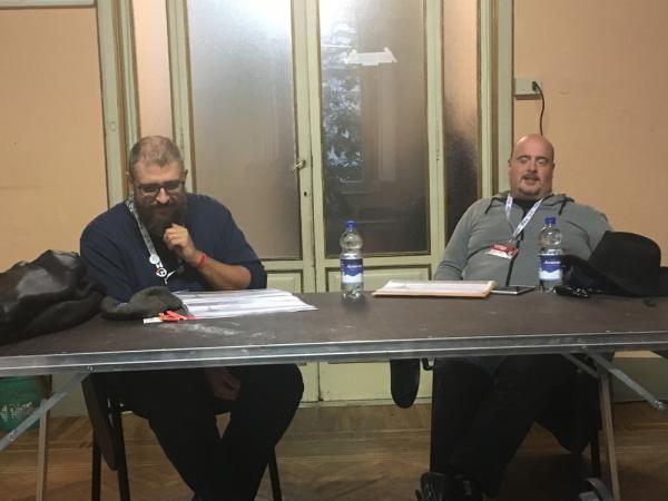 Fabio Bottoni ed Emilio Fabbri