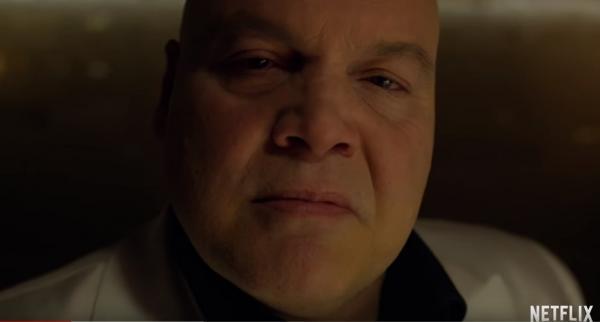 Vincent D'Onofrio è Wilson Fisk in Daredevil