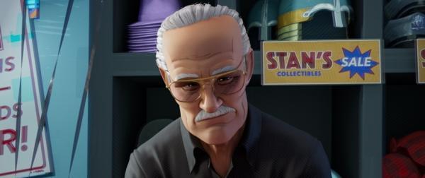 Stan Lee in Spider-Man: un nuovo universo.