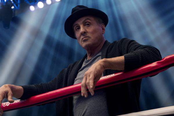 Sylvester Stallon in Creed II