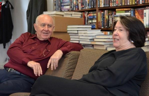 Tom Doherty e Harriet McDougal nel 2013