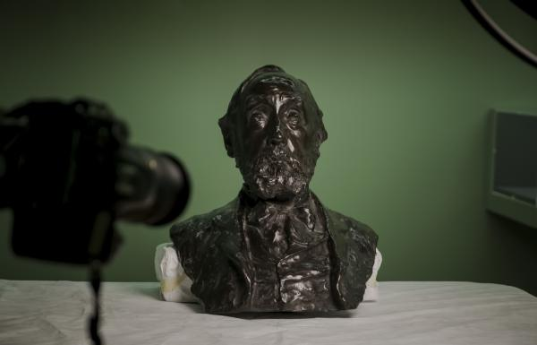 Degas bust by Paulin, EOS Degas - Passion for Perfection ┬® EXHIBITION ON SCREEN (David Bickerstaff)