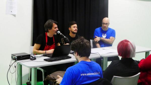 Carlo Cavazzoni e Simon Lupinacci ospiti di AnimeClick a Cartoomics 2019 per parlare di My Hero Academia.