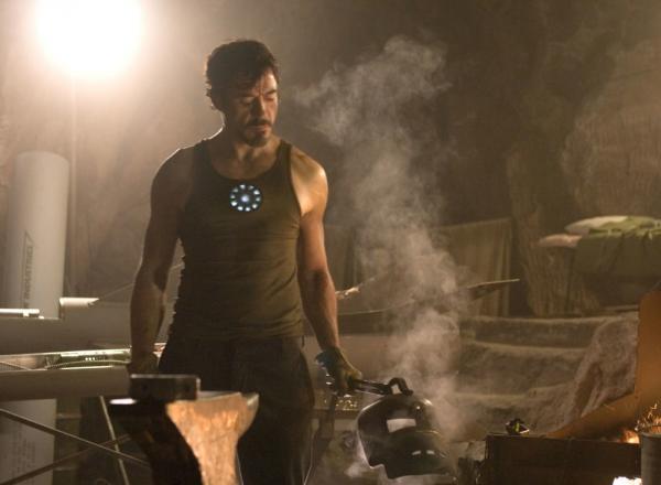 Un fotogramma tratto da Iron Man (2008), dove tutto è iniziato.