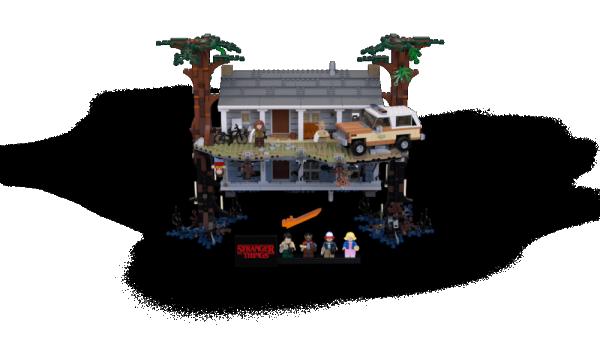 LEGO Stranger Things: Il sottosopra