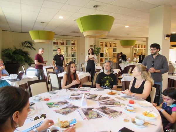 A colazione con Giorgia Cosplay e Igor Chimisso