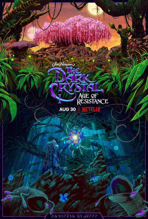 Il poster internazionale di Dark Crystal: La resistenza