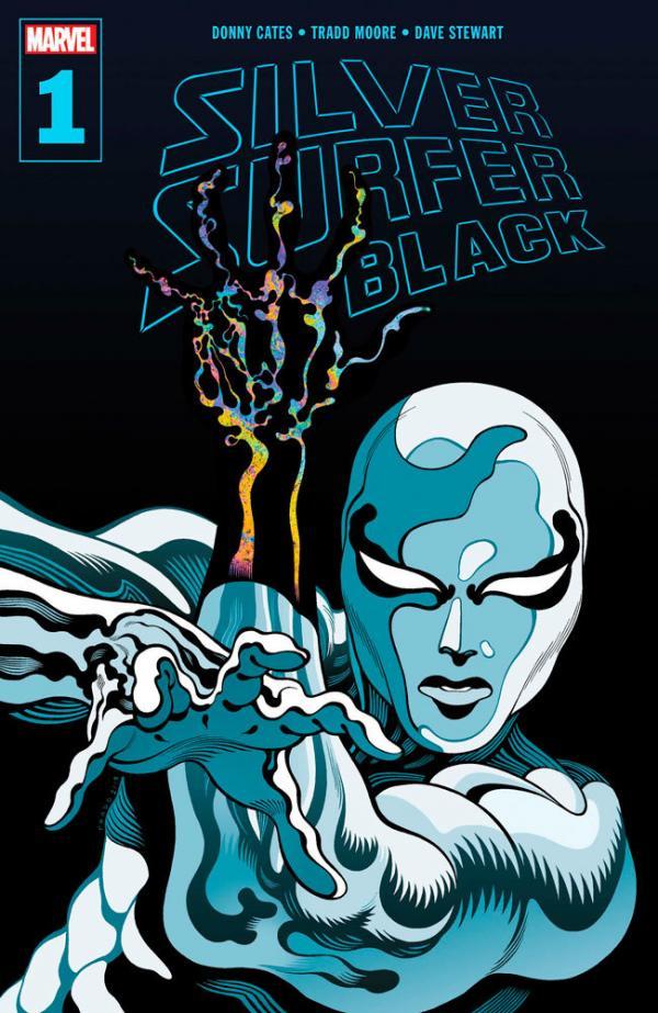 Silver Surfer: Black #1.