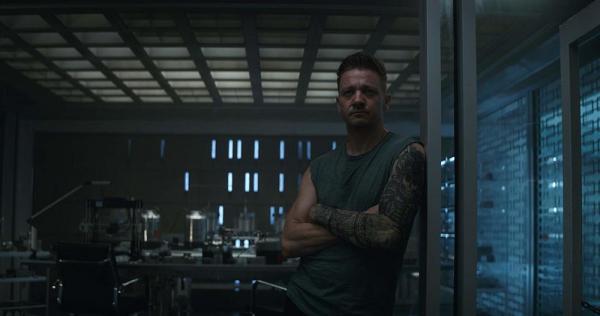 Jeremy Renner è Occhio di Falco in Avengers: Endgame