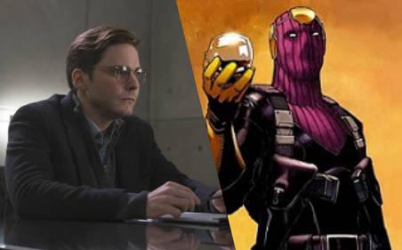 Daniel Brühl è il Barone Zemo in Captain America: Civil War (2016) e il personaggio in costume nei fumetti.